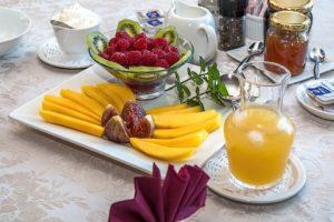 Was regt den Stoffwechsel an, wenn nicht ein leckeres Frühstück?