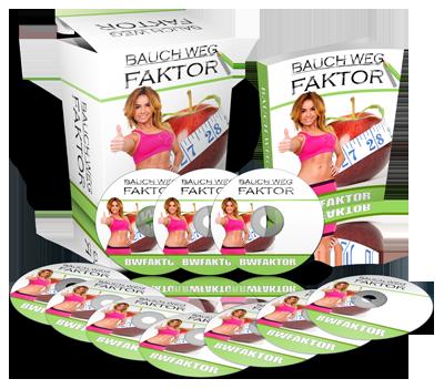 Das Paket mit dem Bauch Weg Faktor für die Bauch Weg Diät
